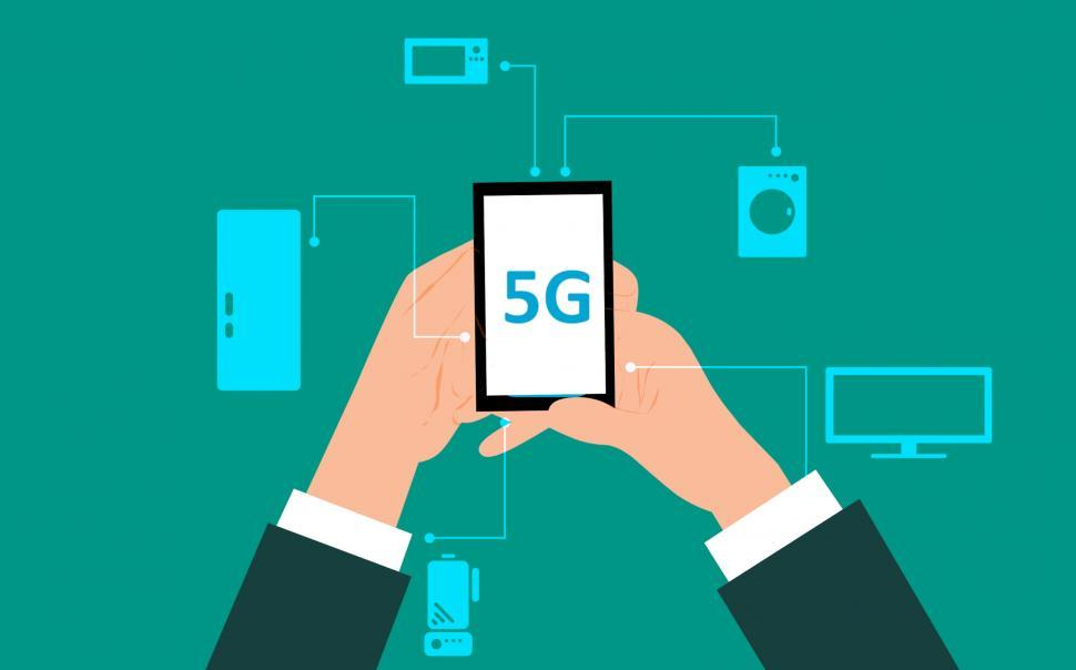 Download Free Stock Photo of 5g technology