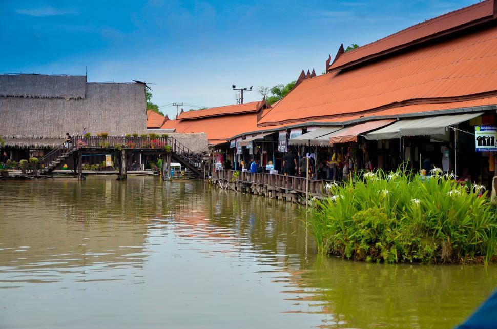 Download Free Stock HD Photo of Local Market - Thailand Online