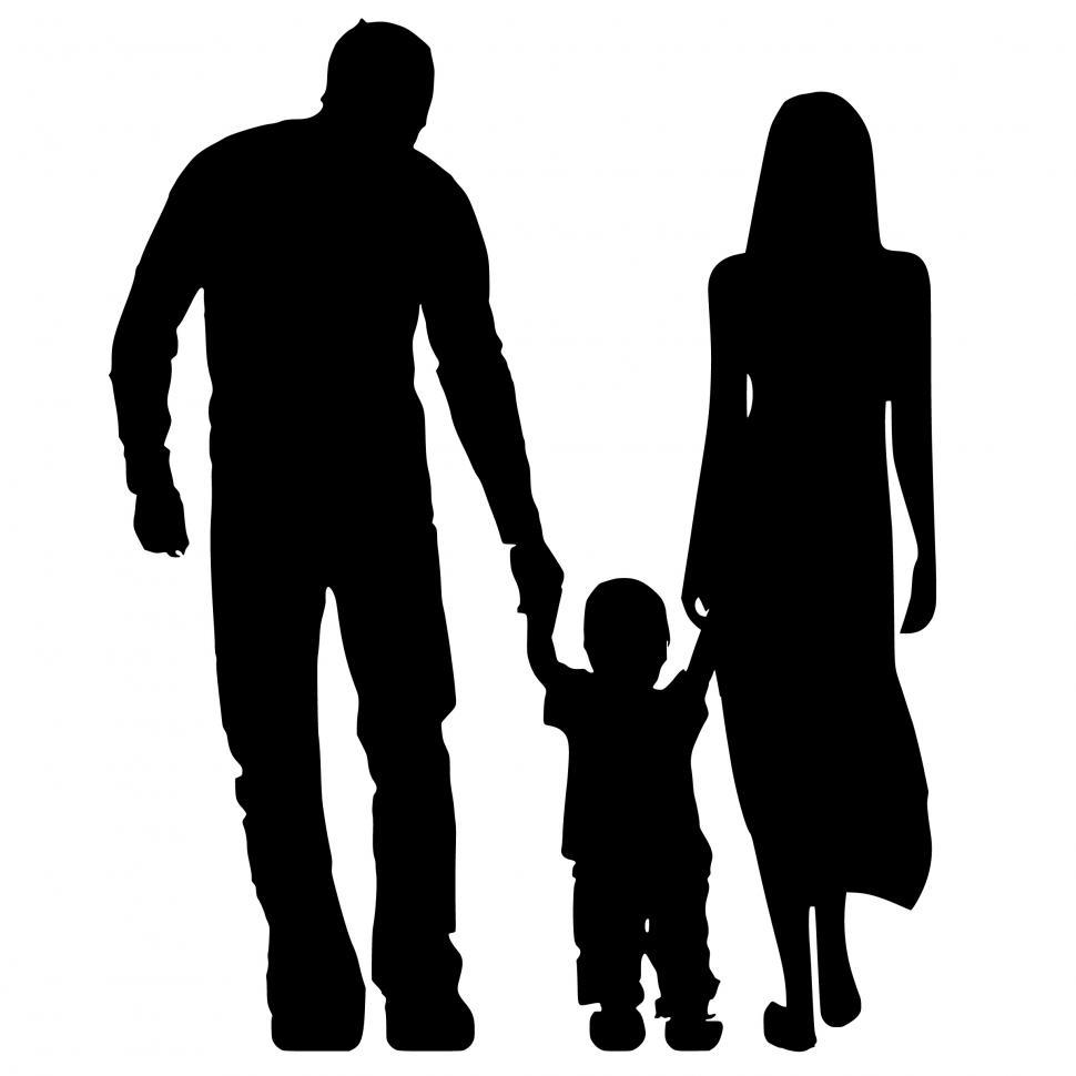 Download Free Stock HD Photo of parents Silhouette  Online