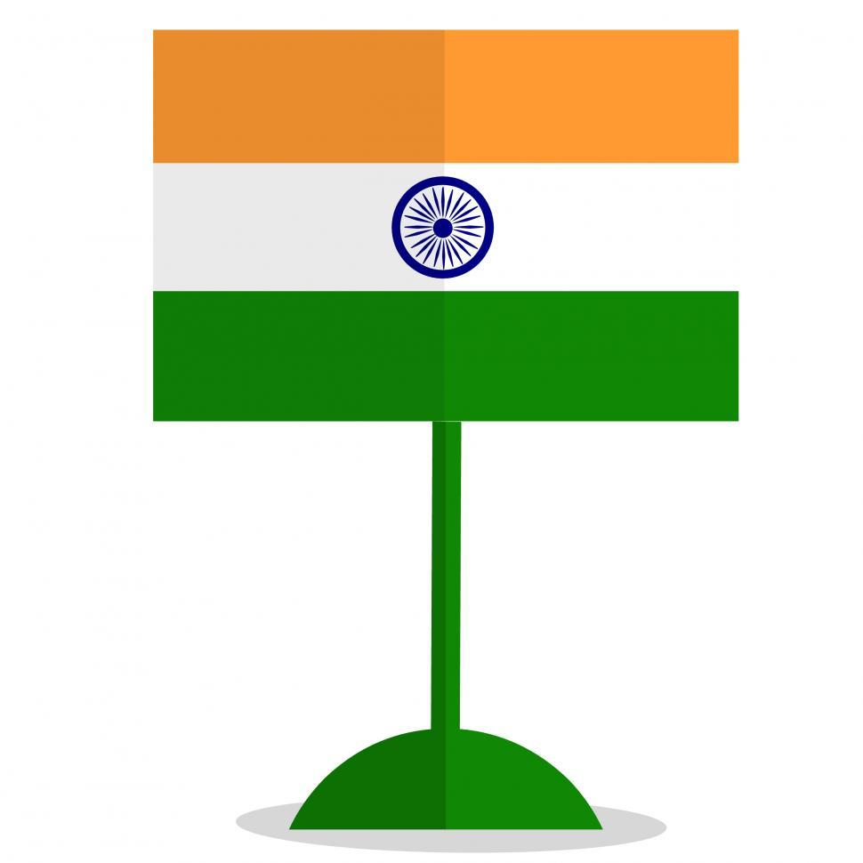 Download Free Stock HD Photo of India flag  Online