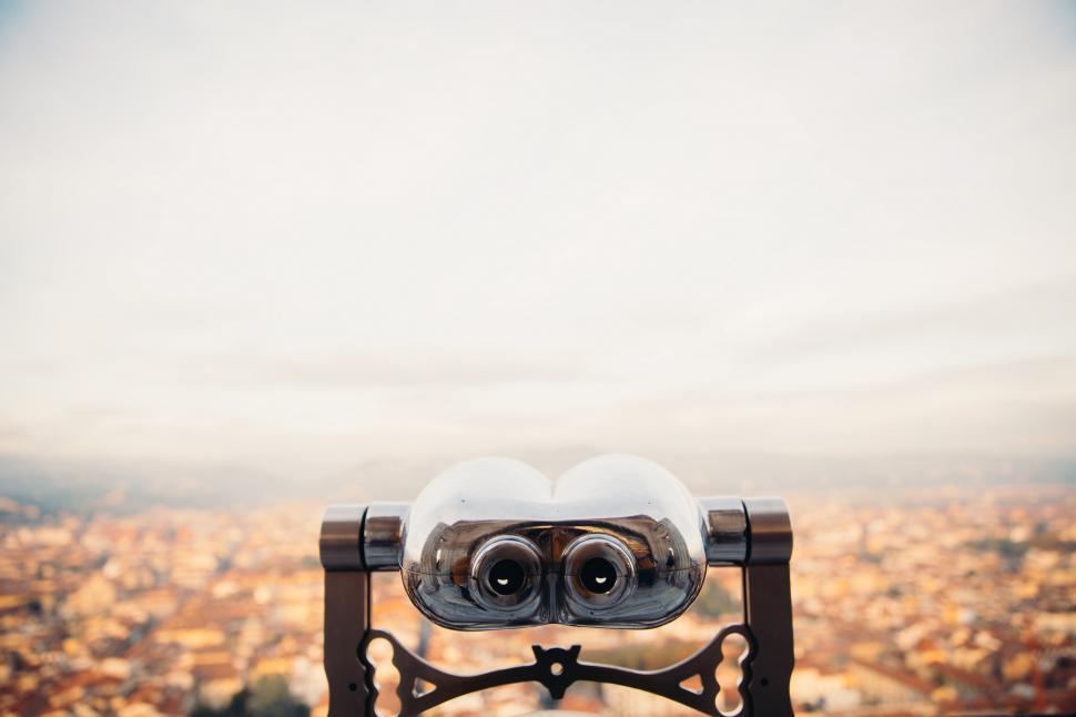 Download Free Stock Photo of Citi view binoculars