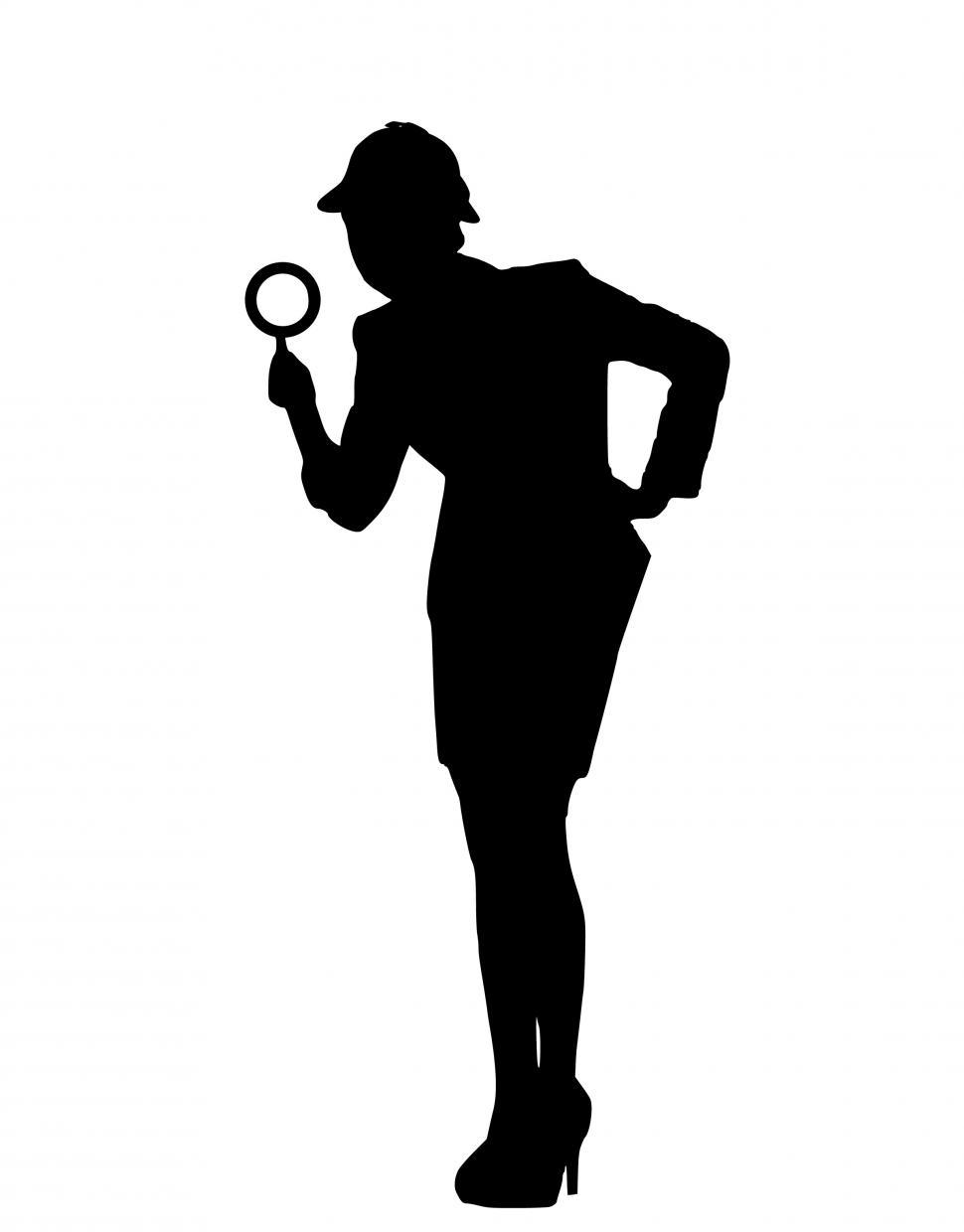 Download Free Stock HD Photo of Investigation Silhouette  Online