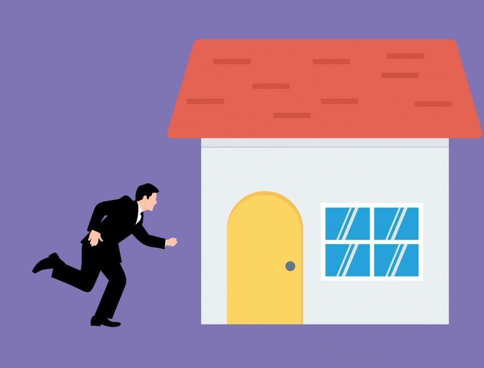 Download Free Stock Photo of Realtor Illustration