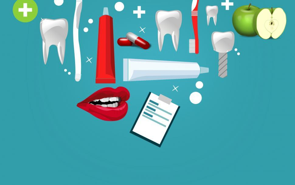 Download Free Stock HD Photo of Oral Care and Hygne Concept Online
