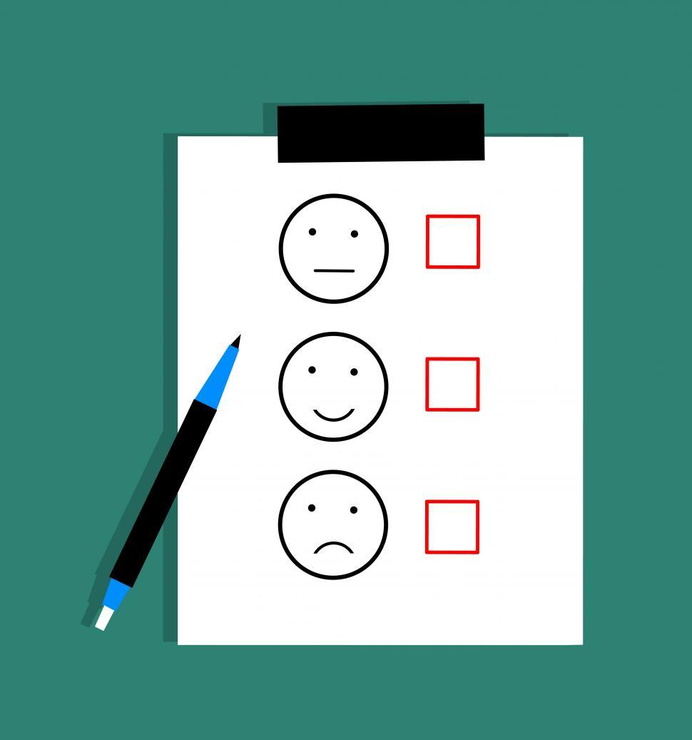 Download Free Stock HD Photo of feedback Survey satisfaction Illustration  Online