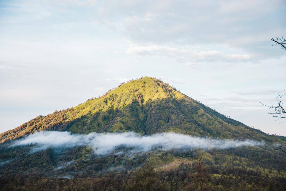 Download Free Stock HD Photo of A green mountain in Guatemala Online