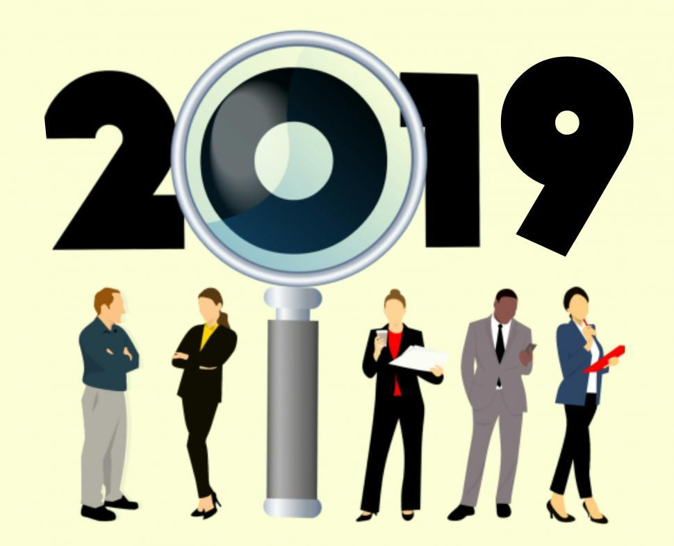 Download Free Stock Photo of search 2019 jobs Illustration