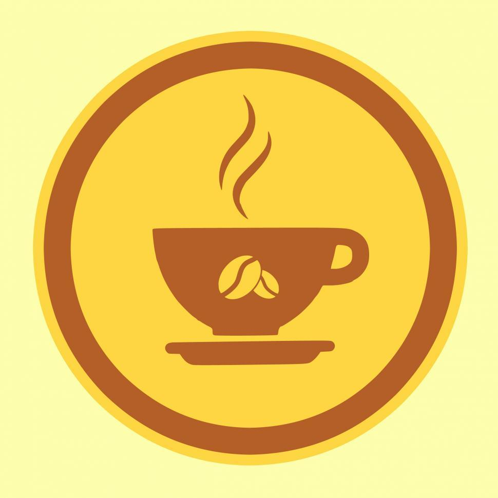 Download Free Stock Photo of coffee icon