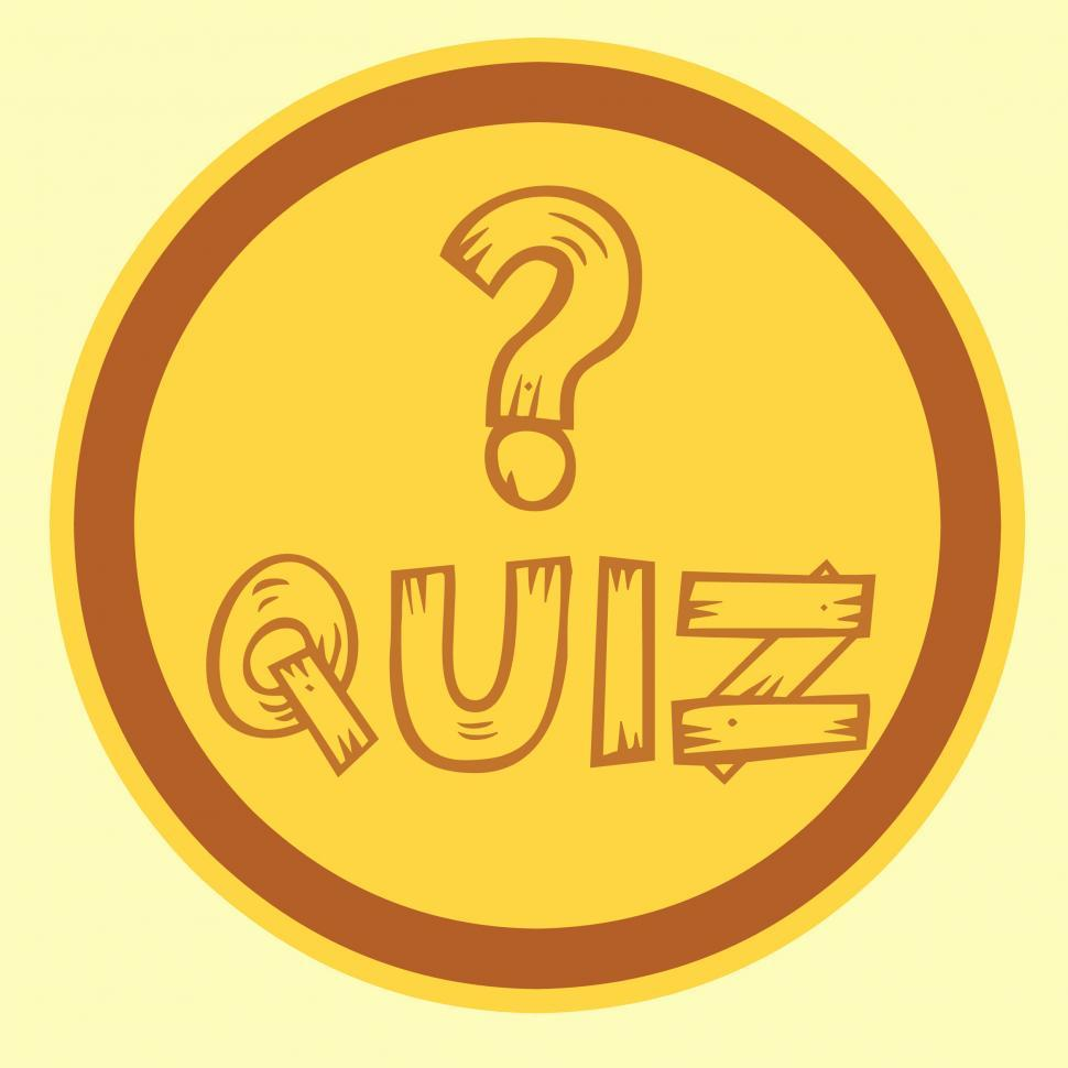 Download Free Stock HD Photo of quiz icon  Online
