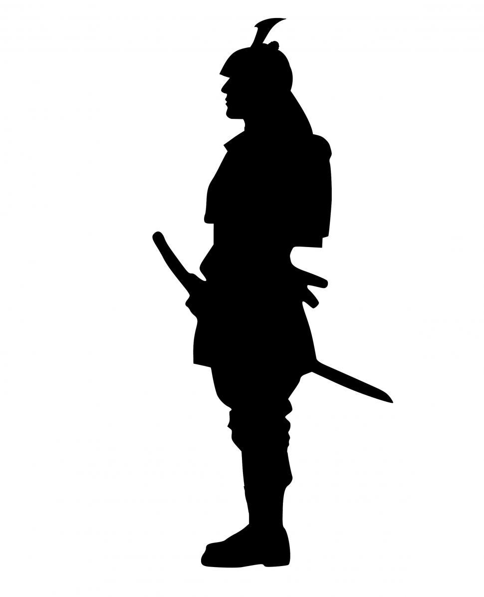 Download Free Stock HD Photo of samurai Silhouette  Online