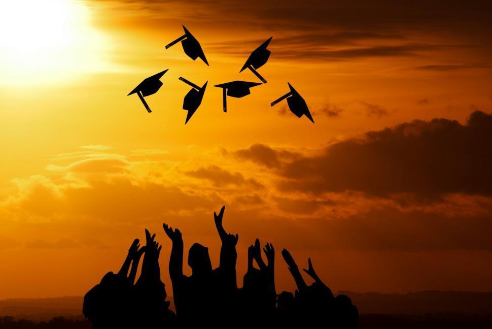 Download Free Stock Photo of graduation ceremony