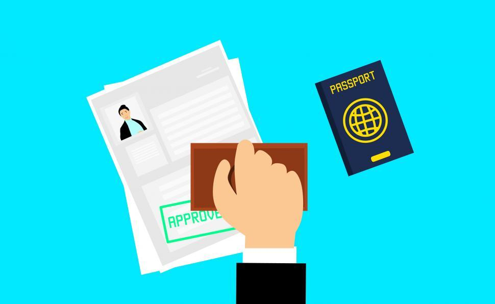 Download Free Stock HD Photo of visa appointment  Online