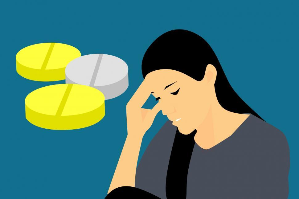 Download Free Stock Photo of headache