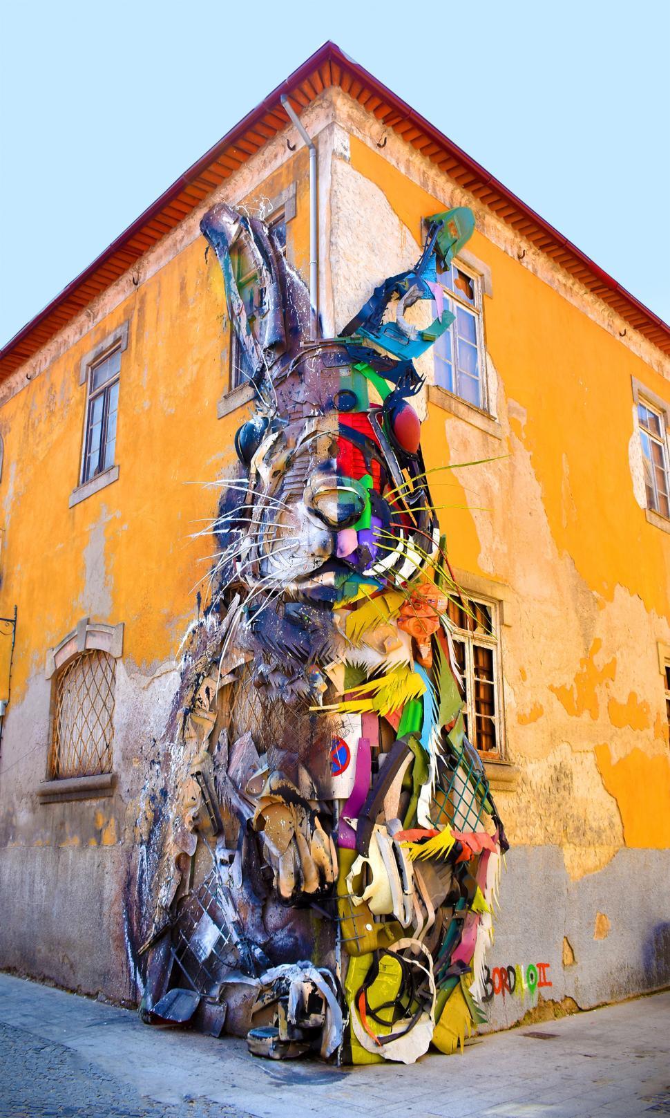 Download Free Stock HD Photo of Urban Art - Porto - V.N. Gaia - Old Port Wine Cellars Online