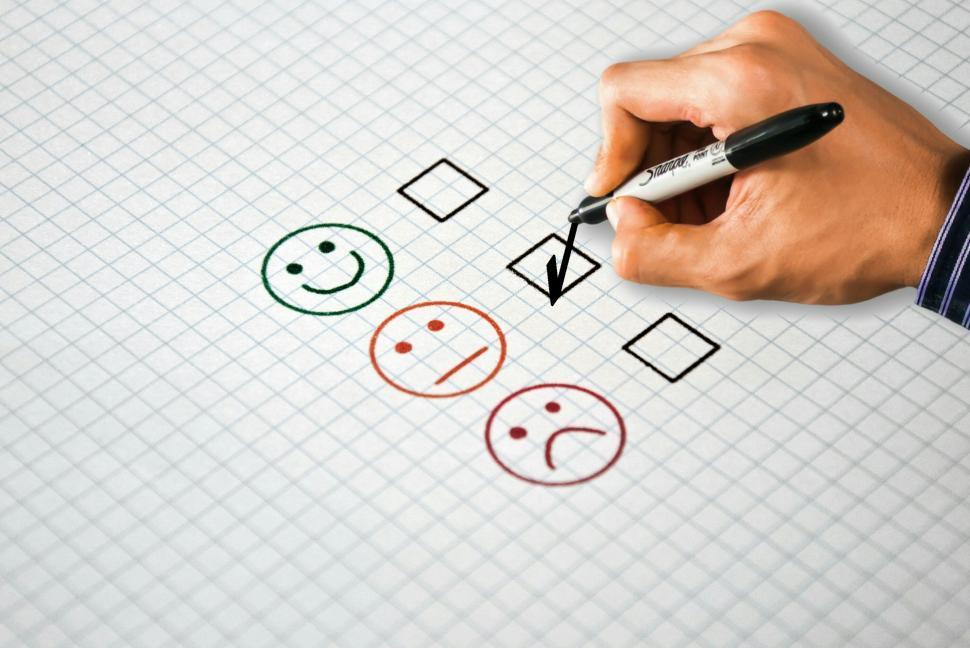 Download Free Stock HD Photo of customer satisfaction survey  Online