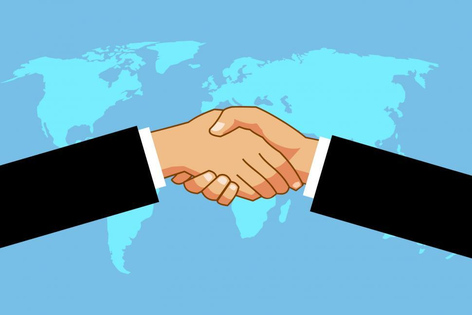 Download Free Stock Photo of international business agreement