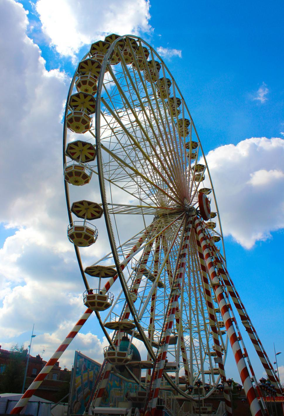 Download Free Stock HD Photo of Giant Wheel -Toulouse - France Online