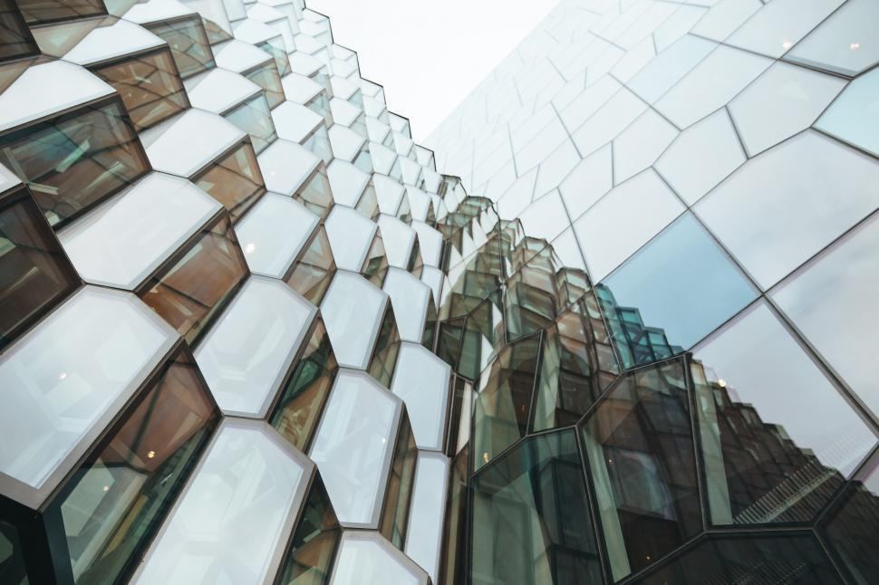Download Free Stock HD Photo of Modern glass architecture Online