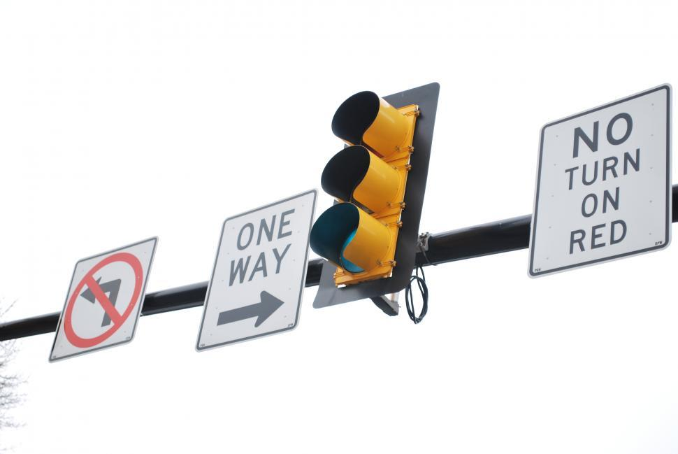 Download Free Stock Photo of traffic lights