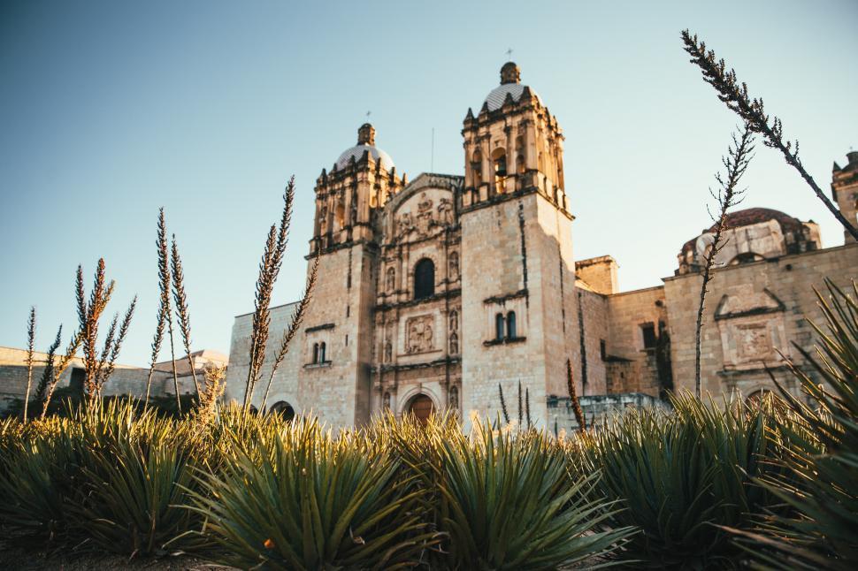 Download Free Stock Photo of Santo Domingo de Guzman in Oaxaca, Mexico