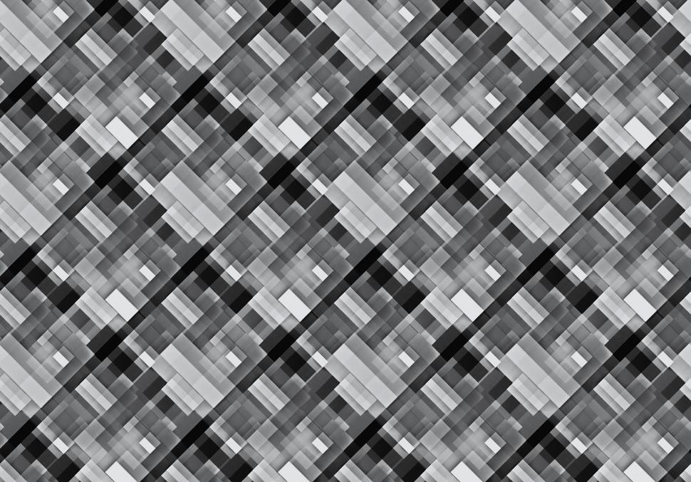 Download Free Stock Photo of Grayscale pattern background
