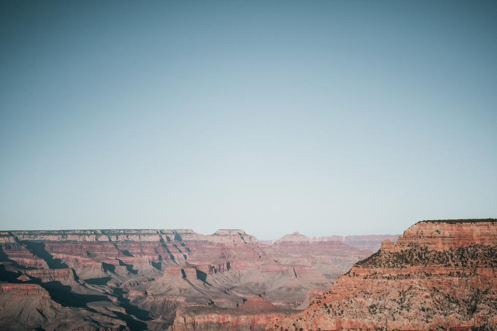 Download Free Stock HD Photo of A panoramic view of grand canyon Online