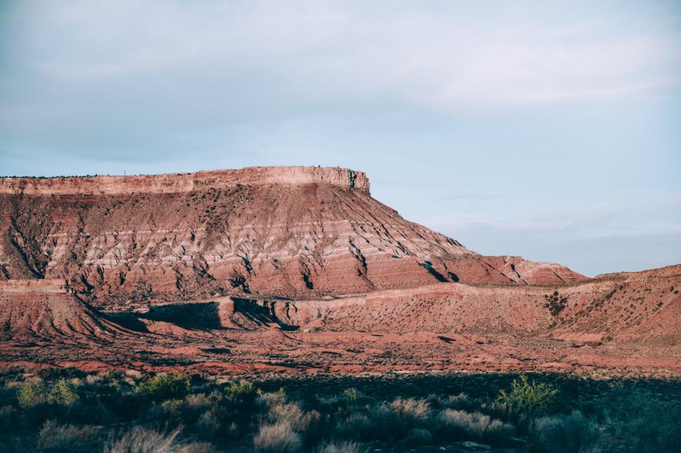 Download Free Stock Photo of Arizona landscape under clear sky