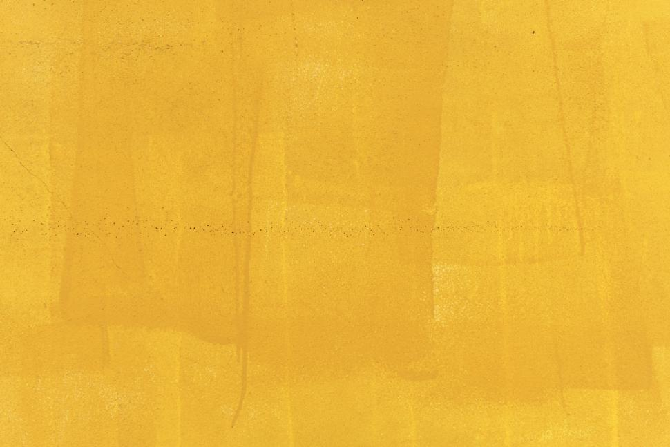 Download Free Stock HD Photo of Abstract texture of yellow paint coating Online