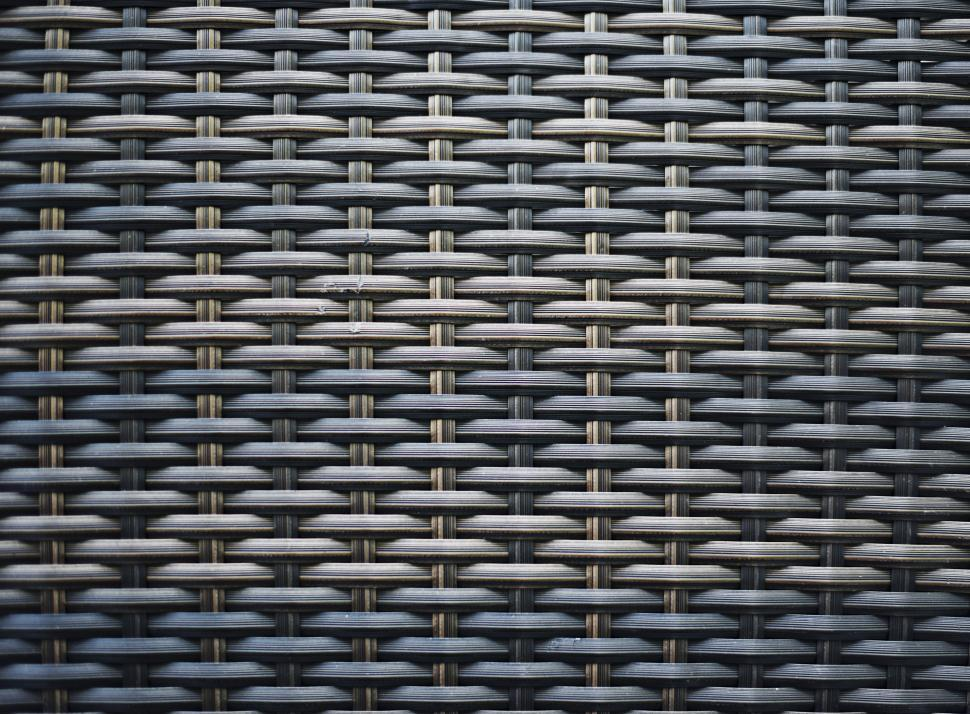 Download Free Stock Photo of Flat woven fiber basket pattern