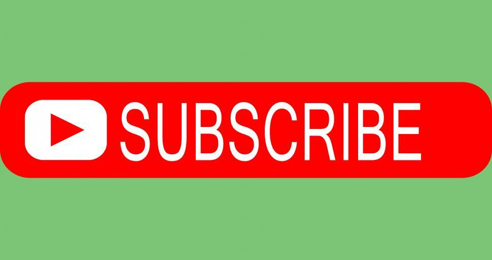 Download Free Stock Photo of subscribe button
