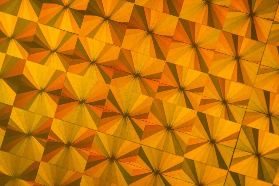 Download Free Stock HD Photo of Ceramic tiles ray design pattern Online