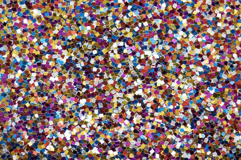 Download Free Stock HD Photo of Colorful clear glass pieces for mosaic Online
