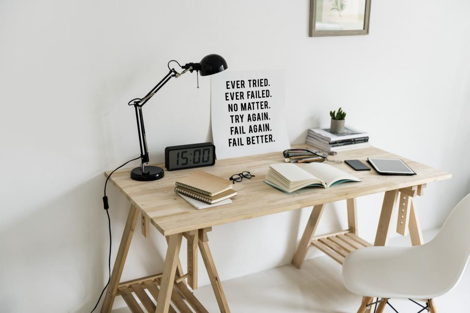 Download Free Stock Photo of Close up of books on a study table