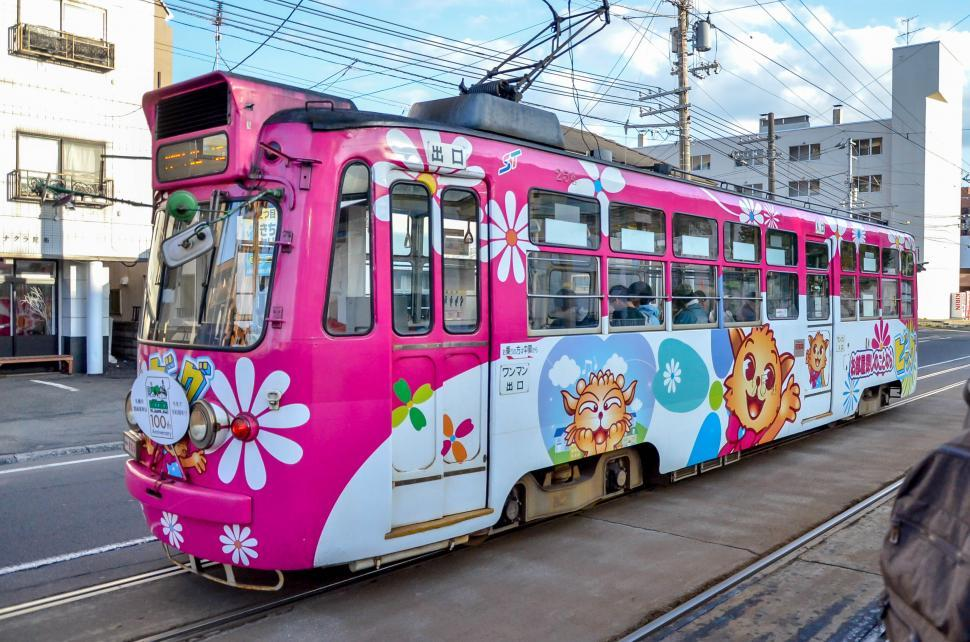 Download Free Stock Photo of Japanese Public Train