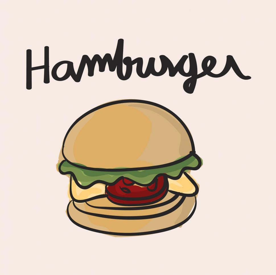 Download Free Stock HD Photo of Hamburger vector icon Online
