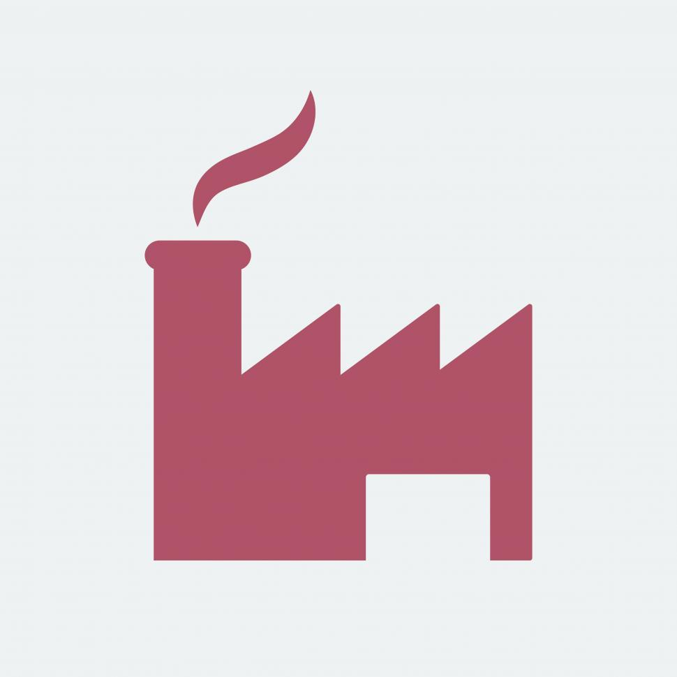 Download Free Stock HD Photo of Factory vector icon Online