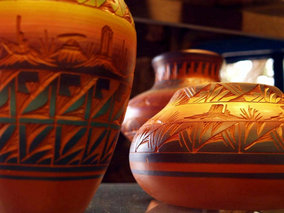 Download Free Stock Photo of Indian Pottery
