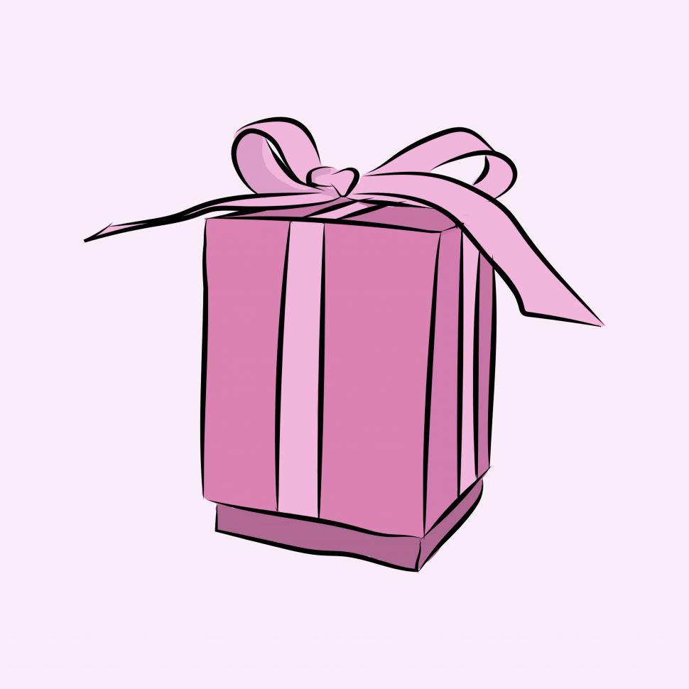 Download Free Stock Photo of Gift icon vector