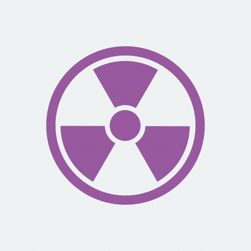Download Free Stock Photo of Radiation vector icon