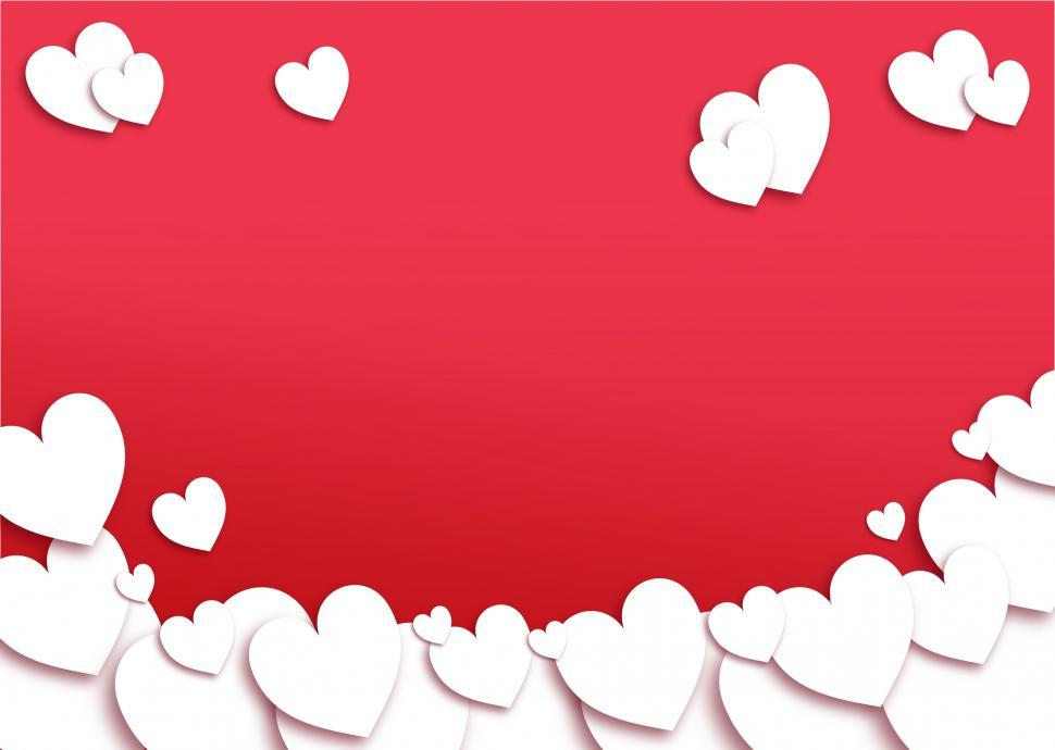 Download Free Stock Photo of Valentines Day Red Background - With Copyspace