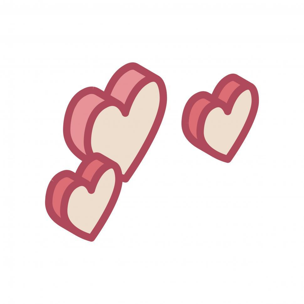 Download Free Stock HD Photo of Hearts vector icon Online