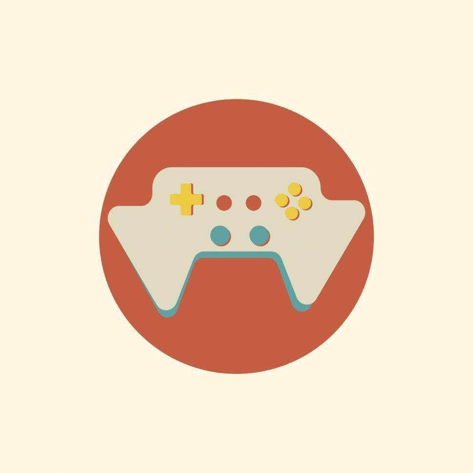 Download Free Stock Photo of Game pad vector icon