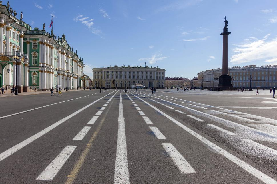 Download Free Stock HD Photo of Palace Square Online