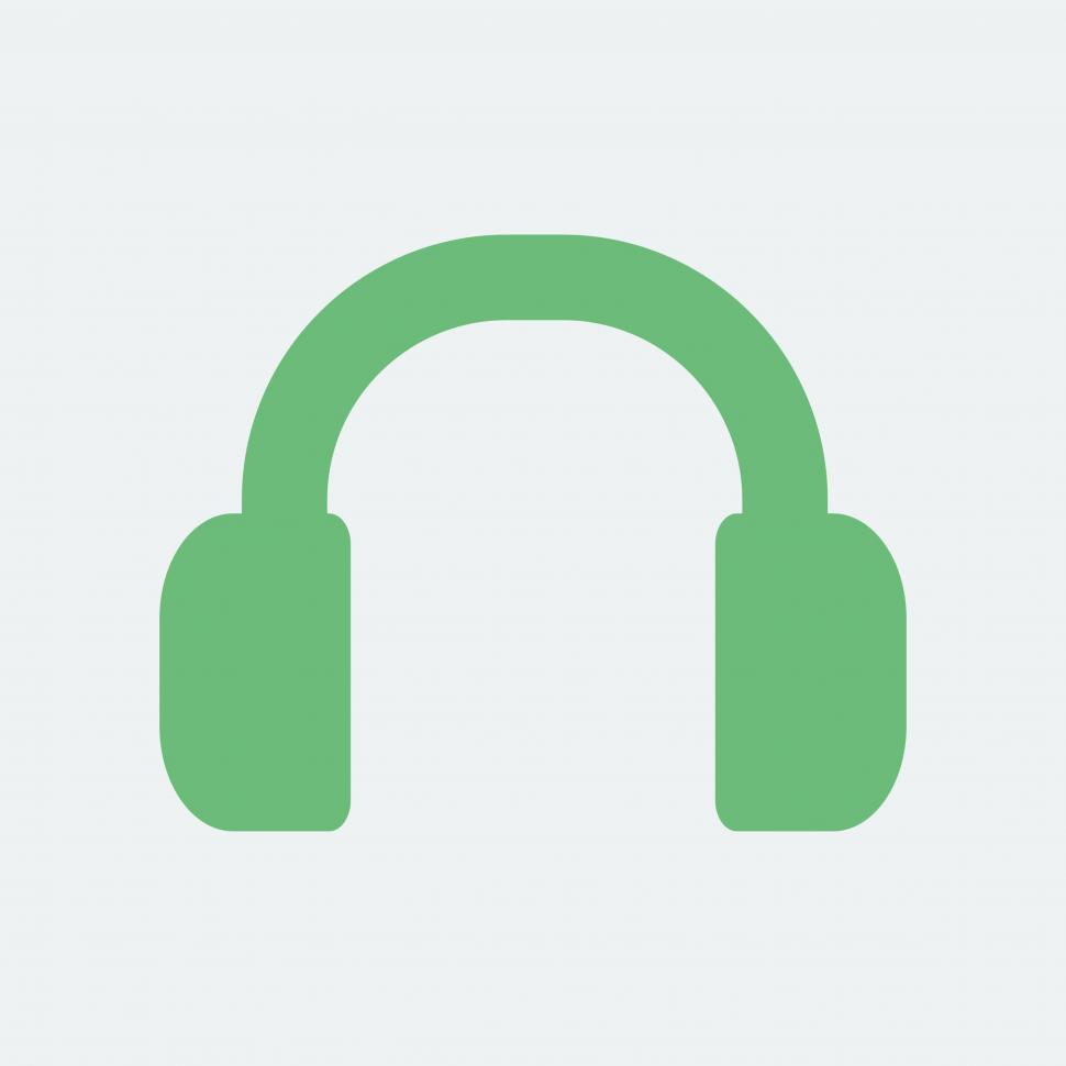Download Free Stock HD Photo of Headset vector icon Online