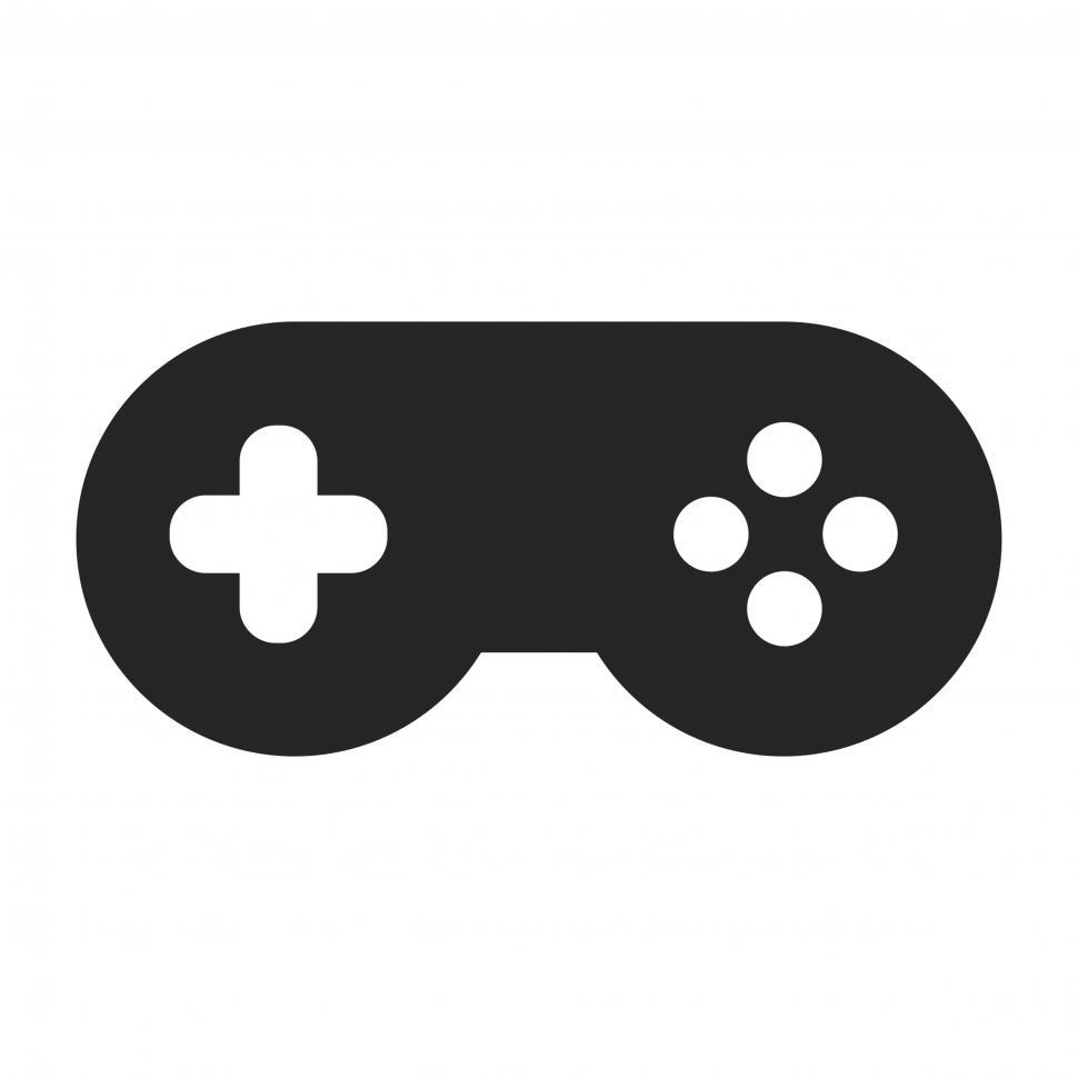 Download Free Stock HD Photo of Game pad vector icon Online
