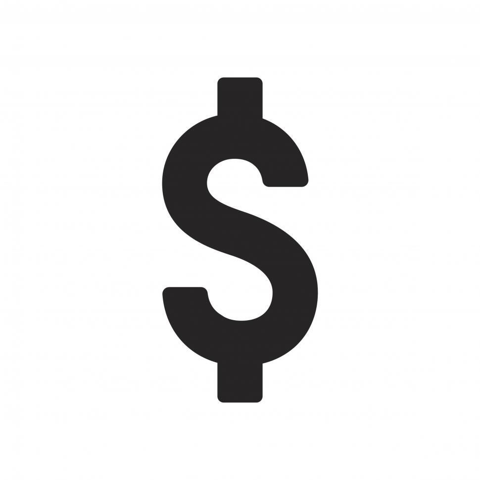 Download Free Stock Photo of Dollar sign vector