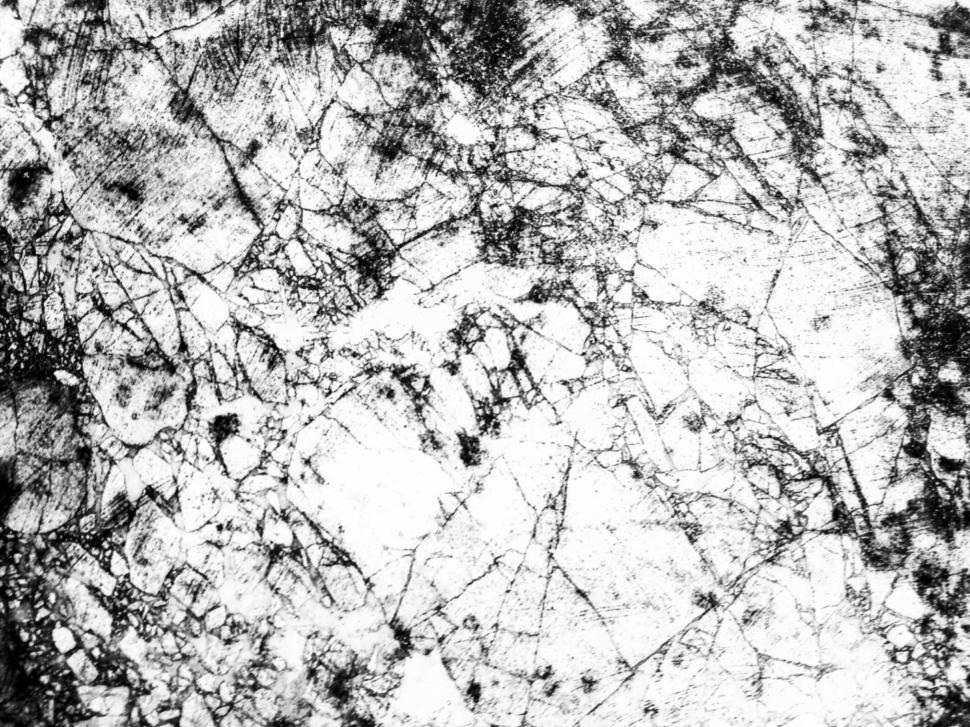 Download Free Stock Photo of Grungy Black and White Concrete Wall Texture