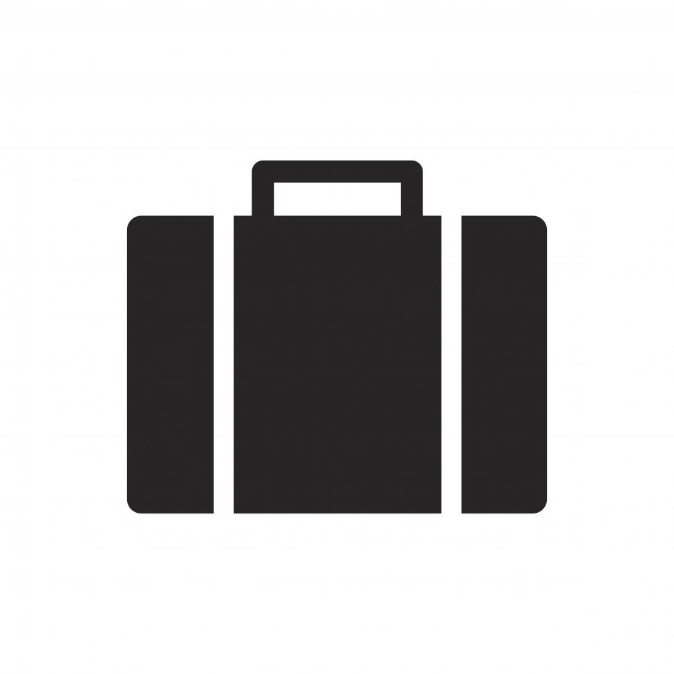 Download Free Stock HD Photo of Luggage vector icon Online