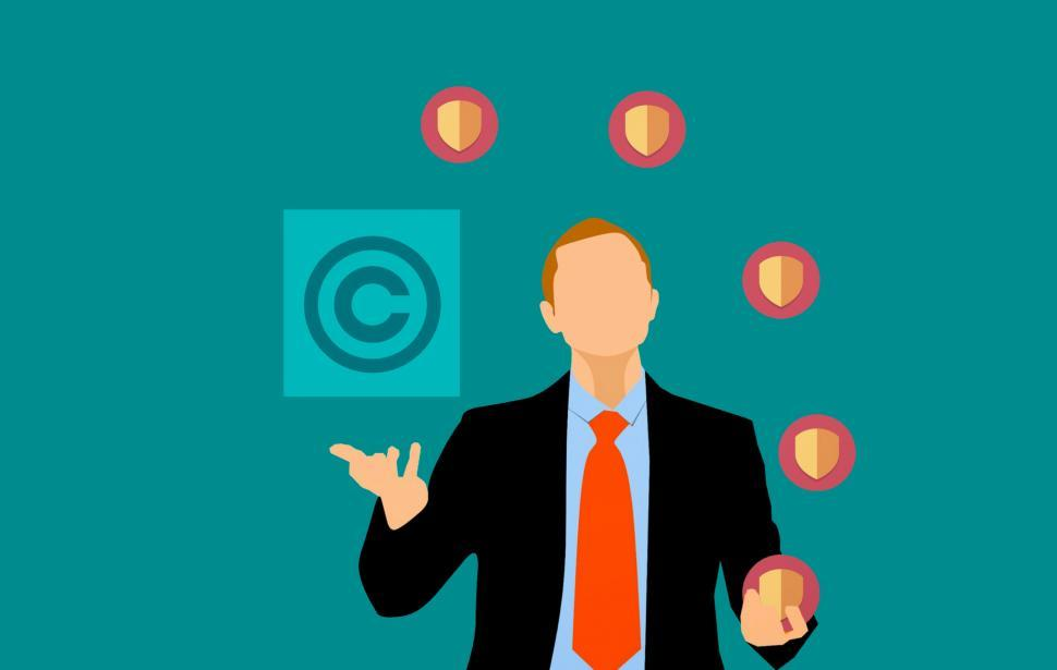 Download Free Stock Photo of Copyright Protection