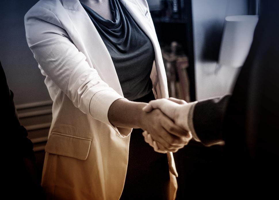 Download Free Stock Photo of Business Agreement - Handshake